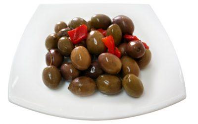Aceituna morada hojiblanca